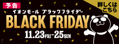 【予告】BLACK FRIDAY