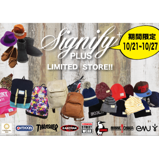 「3F Signify PLUS」 LIMITED STORE